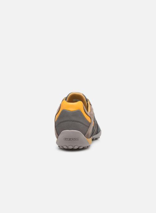 Sneaker Geox UOMO SNAKE K grau ansicht von rechts