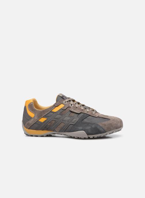 Sneaker Geox UOMO SNAKE K grau ansicht von hinten