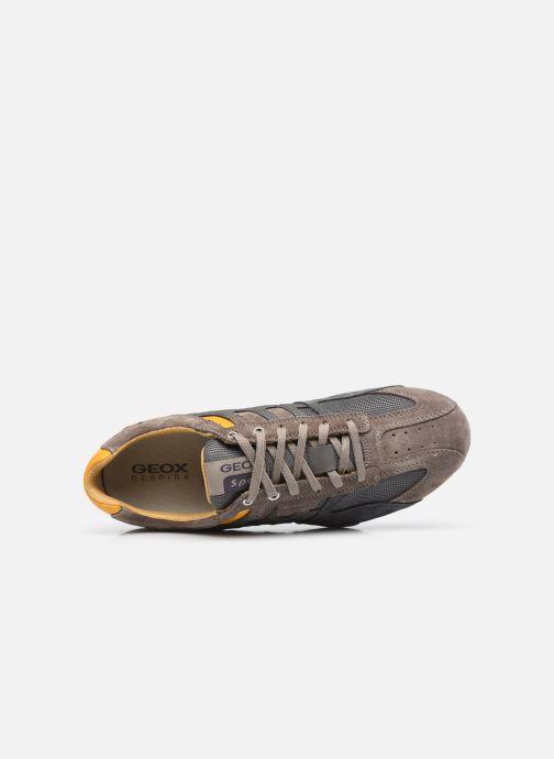 Sneaker Geox UOMO SNAKE K grau ansicht von links