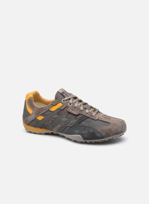 Sneakers Geox UOMO SNAKE K Grijs detail
