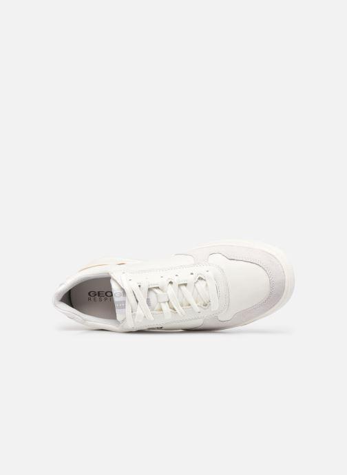 Sneakers Geox U SEGNALE B Bianco immagine sinistra