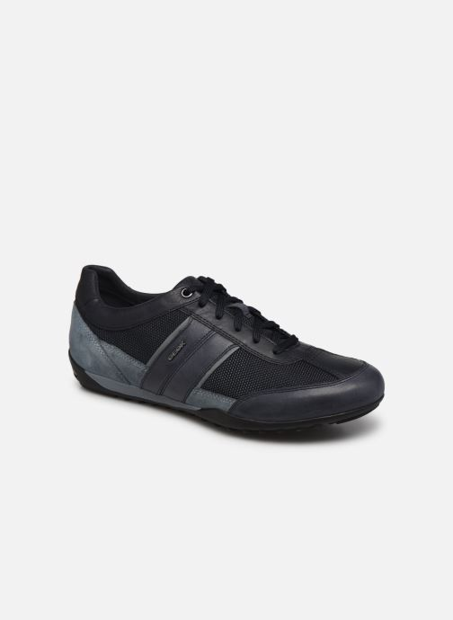 Sneakers Geox U WELLS C Blauw detail