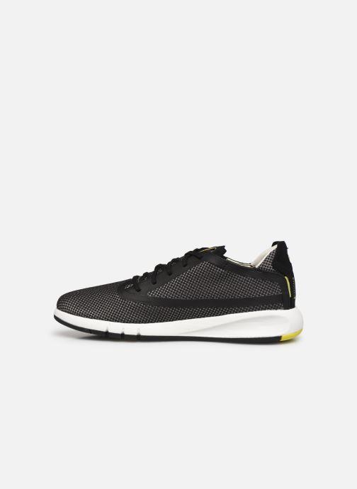 Sneaker Geox U AERANTIS D grau ansicht von vorne