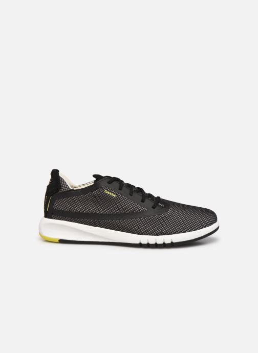 Sneaker Geox U AERANTIS D grau ansicht von hinten