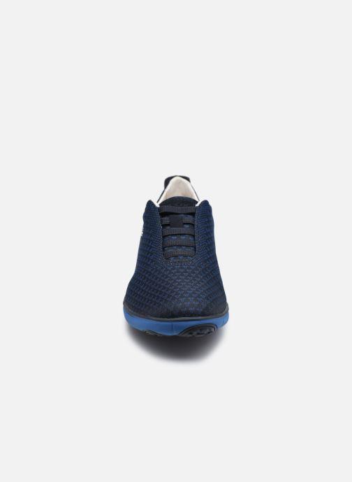 Baskets Geox U NEBULA E Bleu vue portées chaussures