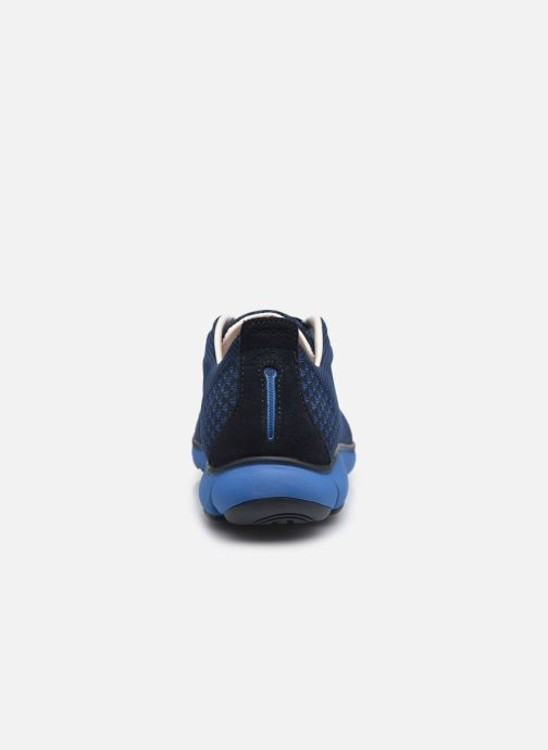 Baskets Geox U NEBULA E Bleu vue droite