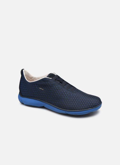 Baskets Geox U NEBULA E Bleu vue détail/paire