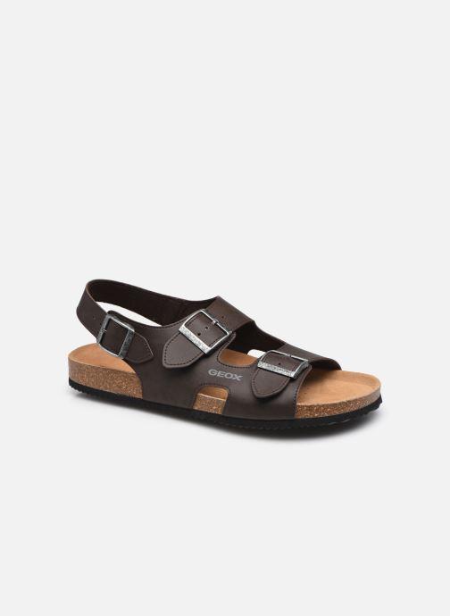 Sandales et nu-pieds Geox U SANDAL GHITA B Marron vue détail/paire