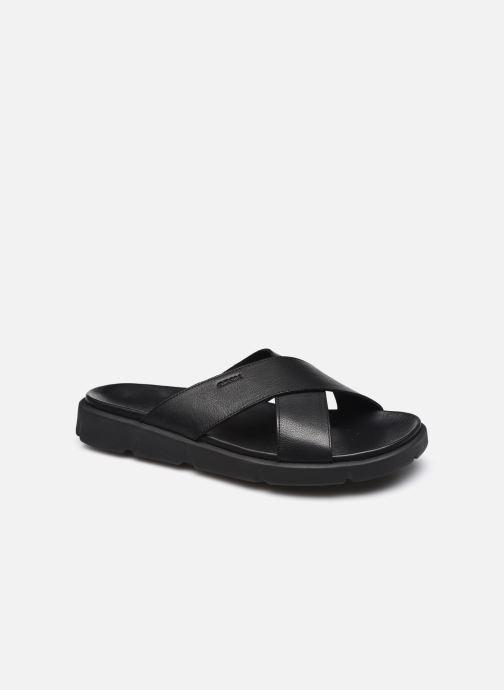 Sandales et nu-pieds Geox U XAND 2S C Noir vue détail/paire