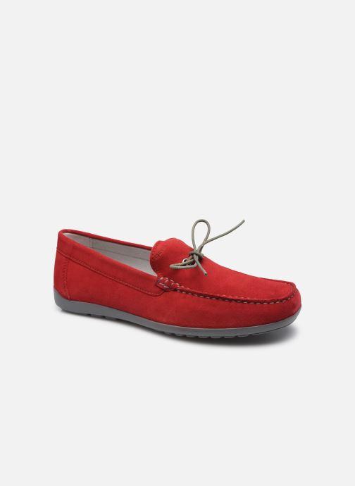 Slipper Geox U TIVOLI A rot detaillierte ansicht/modell