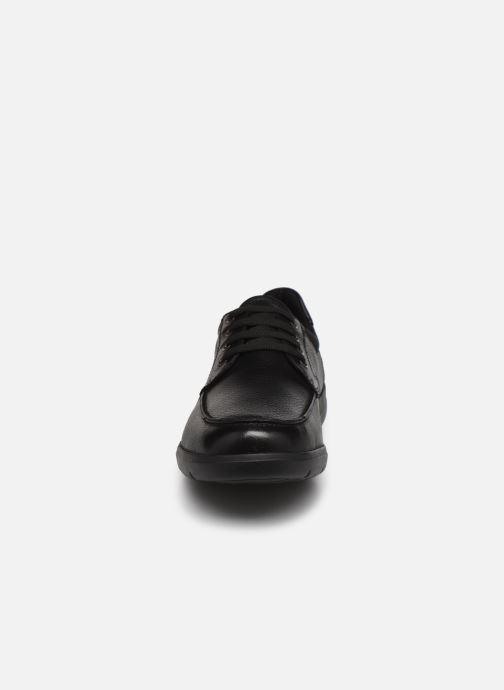 Chaussures à lacets Geox U LEITAN B Noir vue portées chaussures