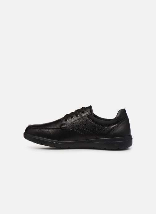 Chaussures à lacets Geox U LEITAN B Noir vue face