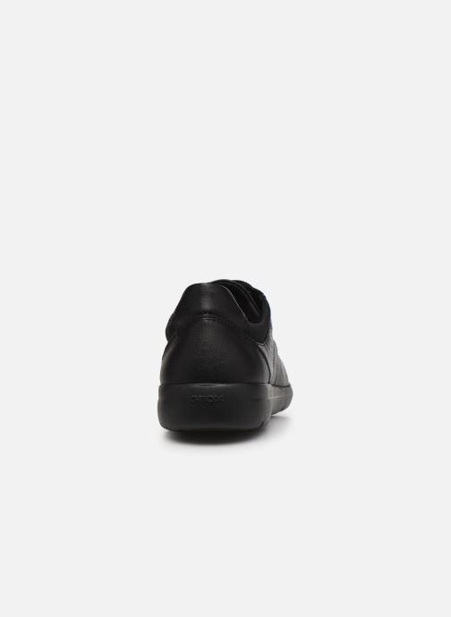 Chaussures à lacets Geox U LEITAN B Noir vue droite