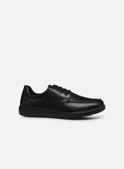 Chaussures à lacets Geox U LEITAN B Noir vue derrière