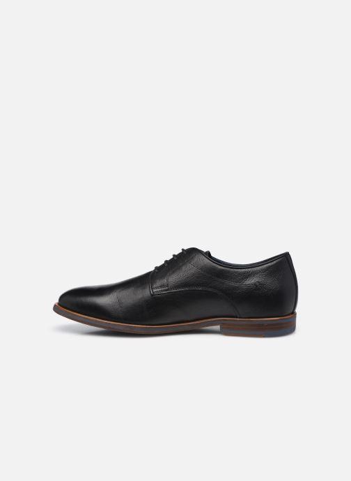 Chaussures à lacets Geox U BAYLE B Noir vue face