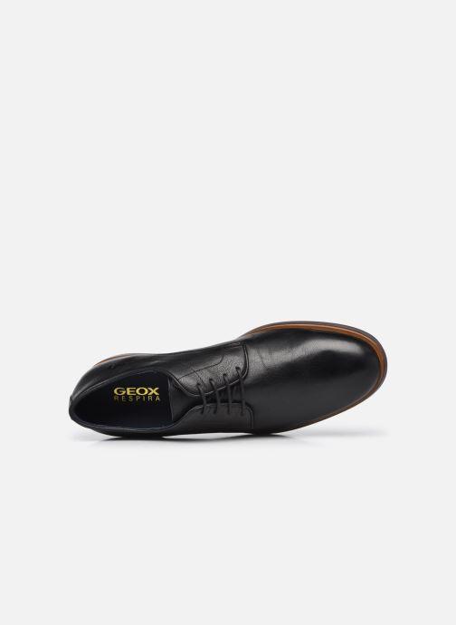 Chaussures à lacets Geox U BAYLE B Noir vue gauche