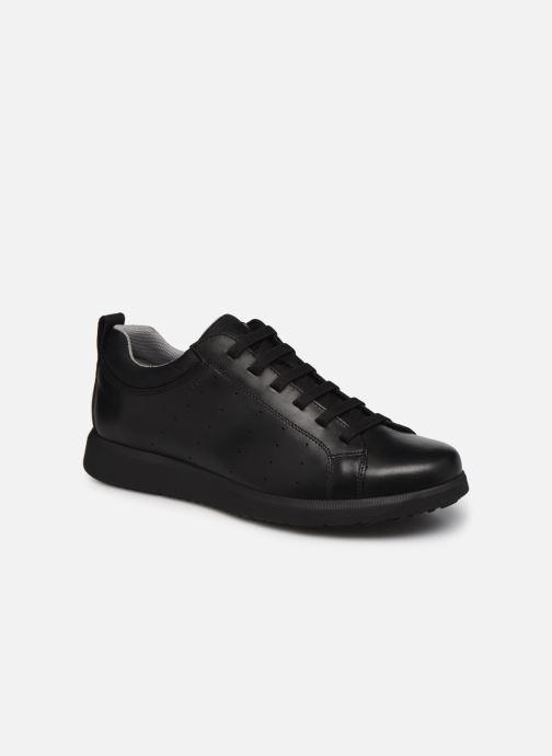 Chaussures à lacets Geox U ERRICO C Noir vue détail/paire
