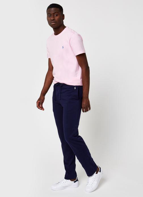 Vêtements Polo Ralph Lauren Pj Pant-Pant-Sleep Bottom Bleu vue bas / vue portée sac