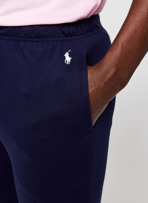 Vêtements Polo Ralph Lauren Pj Pant-Pant-Sleep Bottom Bleu vue face