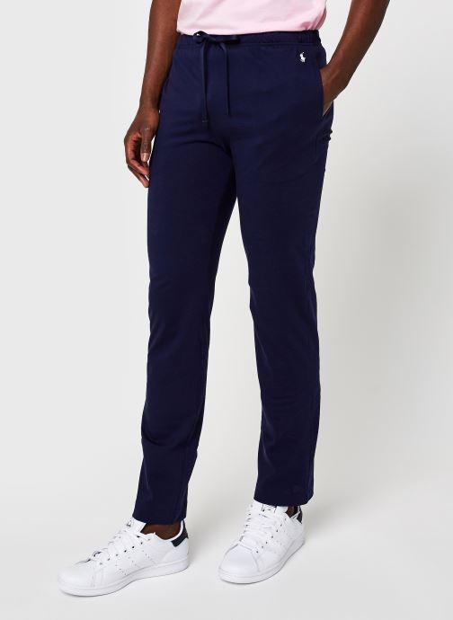Vêtements Polo Ralph Lauren Pj Pant-Pant-Sleep Bottom Bleu vue détail/paire