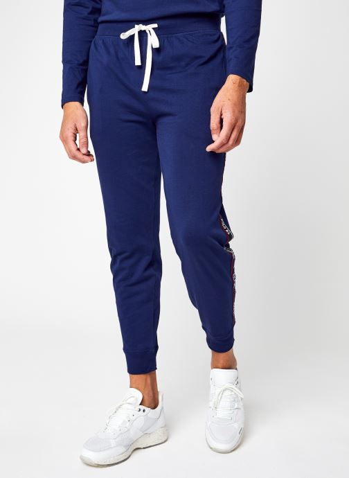 Vêtements Polo Ralph Lauren Jogger-Pant-Sleep Bottom Bleu vue détail/paire