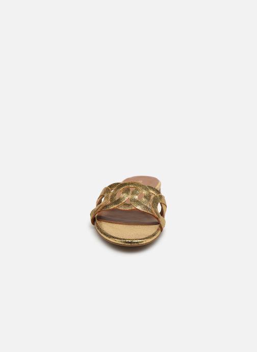Wedges Minelli F63 604/MET Goud en brons model