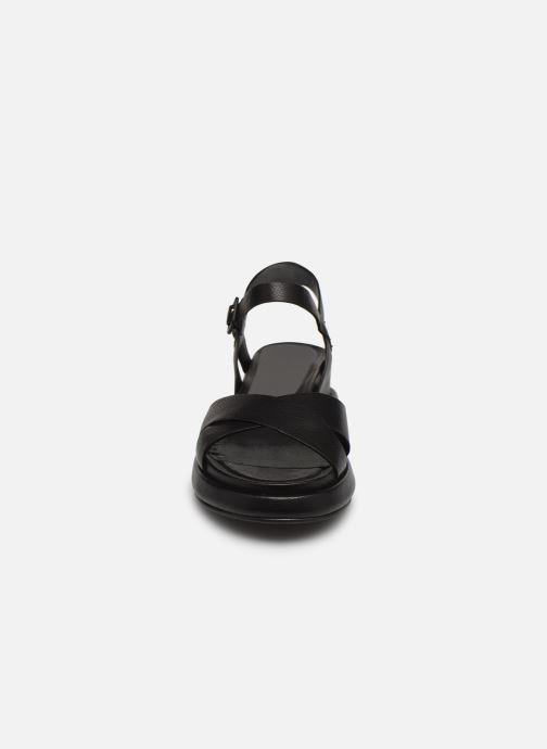 Sandalen Minelli F63 636 schwarz schuhe getragen