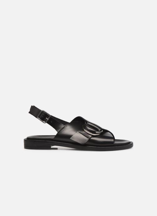Sandalen Minelli F630011LIS Zwart achterkant