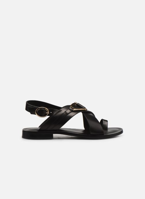 Sandalen Minelli F630023LIS Zwart achterkant
