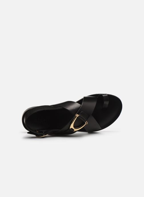 Sandalen Minelli F630023LIS Zwart links