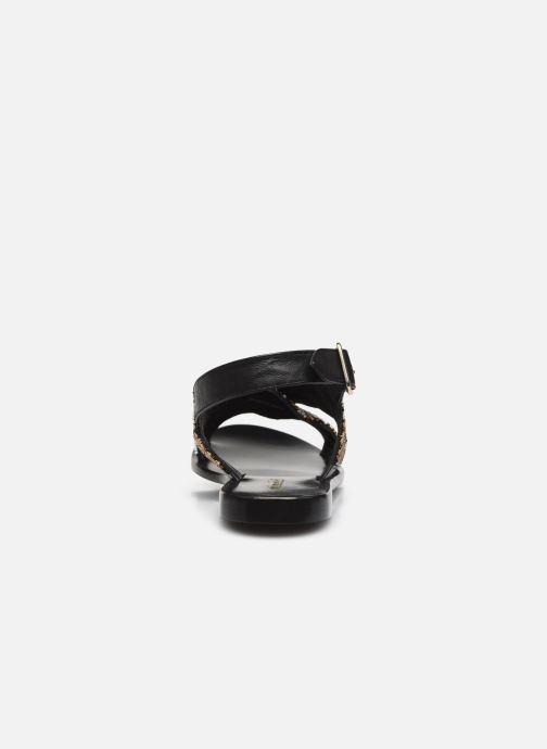 Sandalen Minelli F630024LIS Zwart rechts