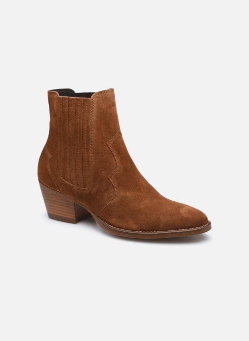 Stiefeletten & Boots Minelli F80 606/VEL braun detaillierte ansicht/modell