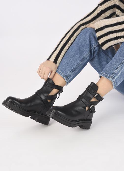 Boots en enkellaarsjes Minelli F60 741 Zwart onder