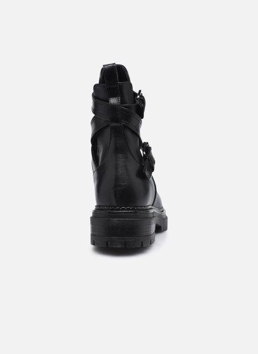 Boots en enkellaarsjes Minelli F60 741 Zwart rechts