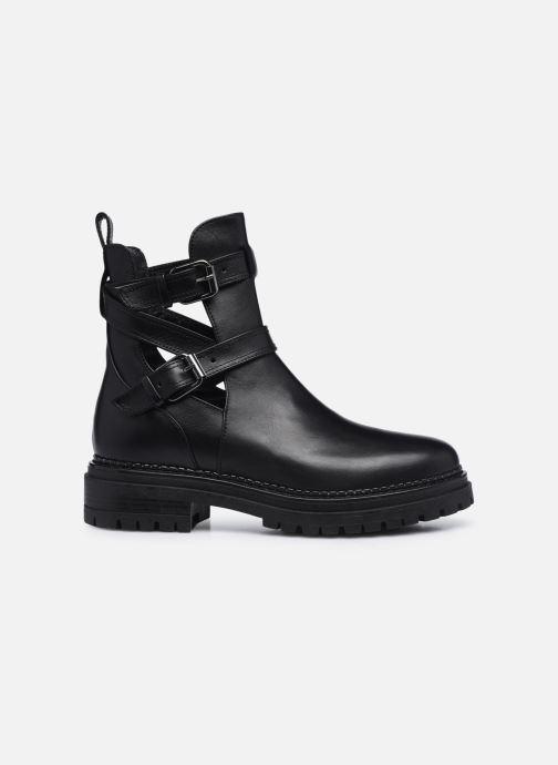 Boots en enkellaarsjes Minelli F60 741 Zwart achterkant