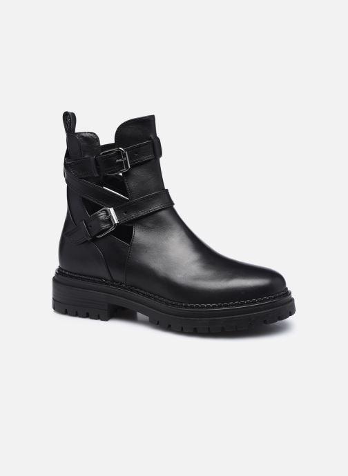 Boots en enkellaarsjes Minelli F60 741 Zwart detail