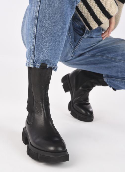 Stiefeletten & Boots Minelli F60 743 schwarz ansicht von unten / tasche getragen