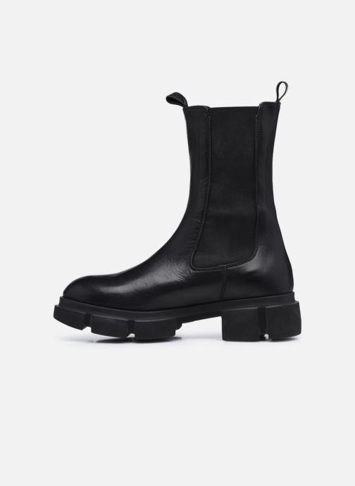 Stiefeletten & Boots Minelli F60 743 schwarz ansicht von vorne
