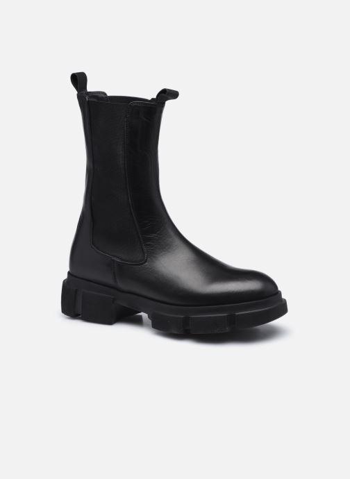 Stiefeletten & Boots Minelli F60 743 schwarz detaillierte ansicht/modell