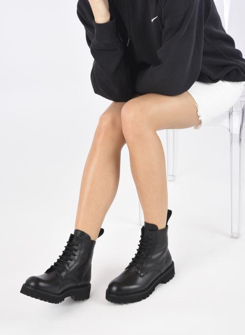 Stiefeletten & Boots Minelli F60 742 schwarz ansicht von unten / tasche getragen