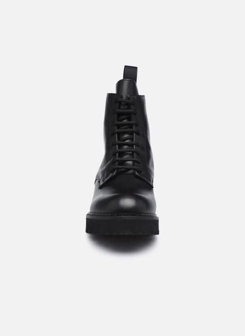 Stiefeletten & Boots Minelli F60 742 schwarz schuhe getragen
