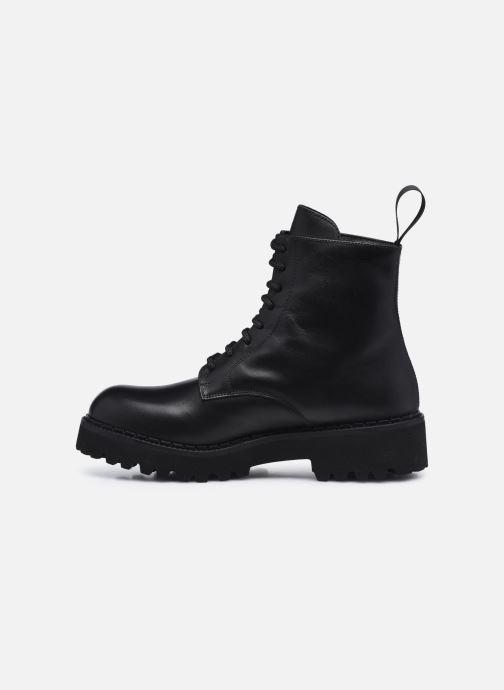 Stiefeletten & Boots Minelli F60 742 schwarz ansicht von vorne