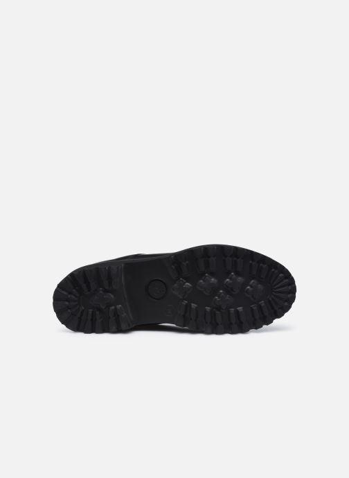 Stiefeletten & Boots Minelli F60 742 schwarz ansicht von oben