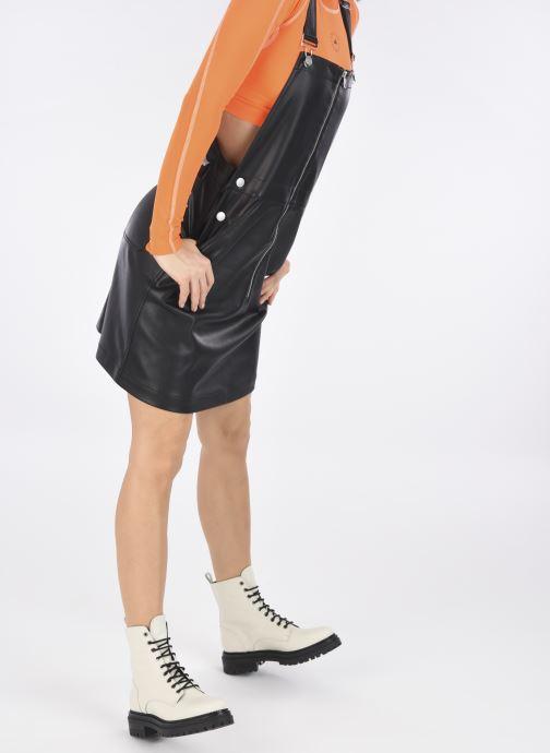 Stiefeletten & Boots Minelli F60721 weiß ansicht von unten / tasche getragen