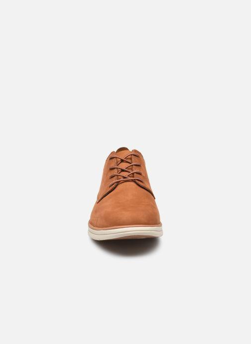 Chaussures à lacets Timberland Bradstreet Marron vue portées chaussures