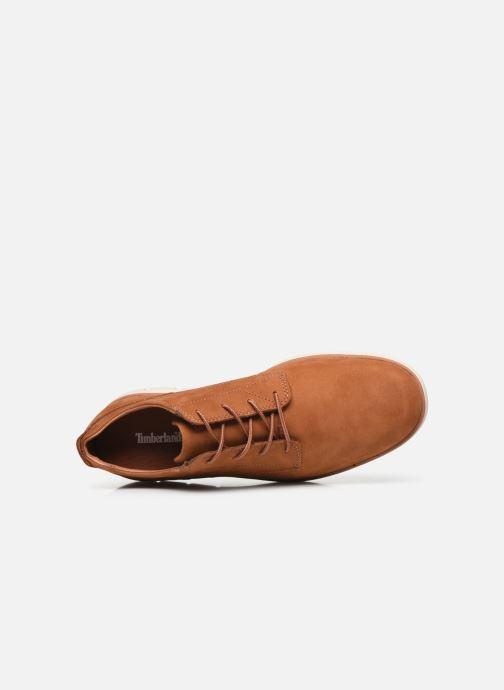 Chaussures à lacets Timberland Bradstreet Marron vue gauche
