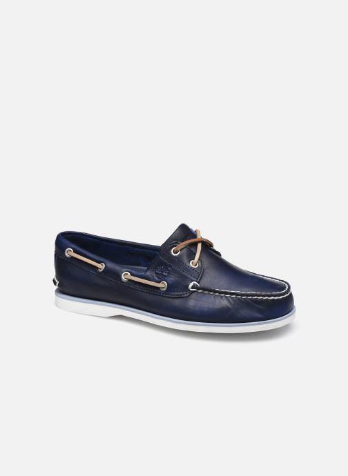 Chaussures à lacets Timberland Classic Boat Bleu vue détail/paire