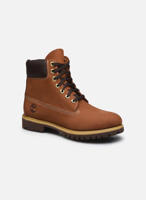 Boots en enkellaarsjes Timberland Timberland Premium Bruin detail