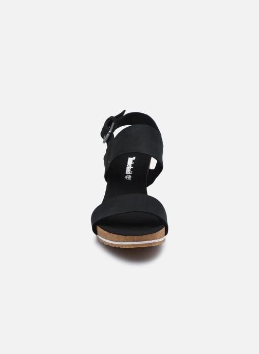 Sandalen Timberland Rest ContempCasual schwarz schuhe getragen