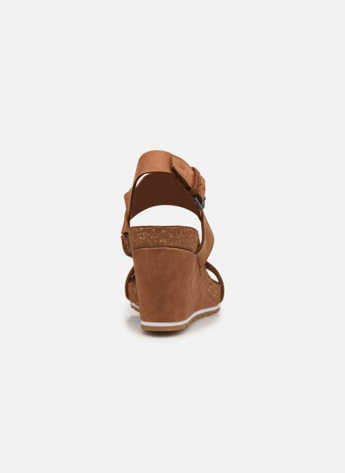 Sandales et nu-pieds Timberland Rest ContempCasual Marron vue droite